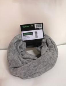 Neckscarf varm ljus grå