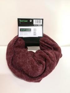 Neckscarf varm vinröd