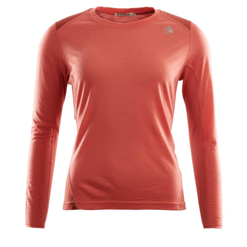 Light Wool Sports Women M, Burt Sienna/Red Ochre Aclima
