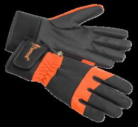 Hunter Extreme Handske 8, Orange/Black Pinewood