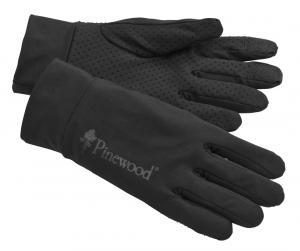 Thin Liner Handske M/L, Black Pinewood