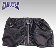 Janutex träningsficka svart / Treenitasku musta
