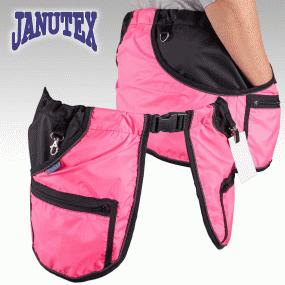 Janutex träningsficka rosa / Treenitasku pinkki