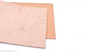 Vegetabilgarvat läder/ 20 x 20 cm