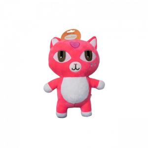 Hundleksak / Dog toy pink cat 26 cm
