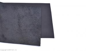 Vegetabilgarvat läder/svart/ 20x20