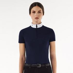 CT FRONT ZIP POLO