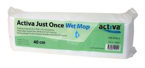 Activa Just Once Wet Mop engångsmopp