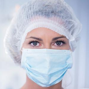Kirurgiskt munskydd, typ IIR, 50st/fp