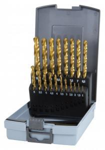 RUKO Borrsats 1-10mm TiN