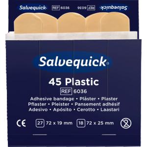 Plåster Plast 1-hjälpentavla 6st refill / fp, 6036