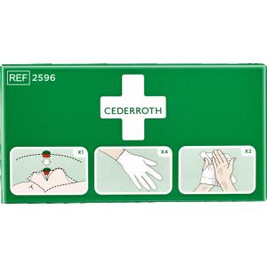 Cederroth Skyddspaket Första Hjälpen tavla 2596