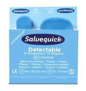 Plåster Blue Detectable Fingertip Salvequick