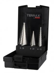 RUKO Terrax Stegborrset 4-30mm