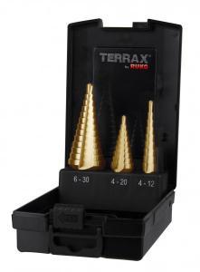 RUKO Terrax Stegborrset 4-30mm TiN