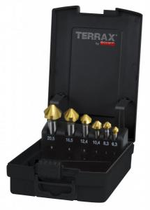 RUKO Terrax Försänkarsats 6,3-20,5mm TiN