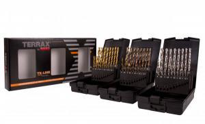RUKO Terrax Borrkasetter 1-10mm Slip HSS/Tin/Co5