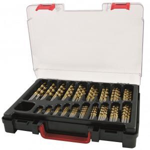 RUKO borrlåda 170 st 1-10mm TiN