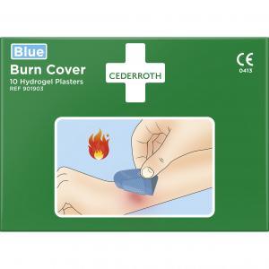 Burn Cover Blue Hydrogelplåster för brännsår Cederroth