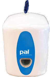Pal Maxi8 vägghängd dispenser, låsbar