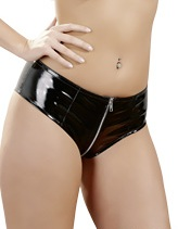 Lack Panty 2 way Zipper