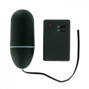 Remote Control Vibrating Egg Black