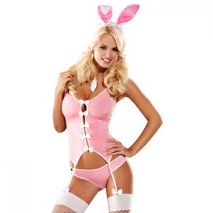 Obsessive - Bunny Suit Costume L/XL