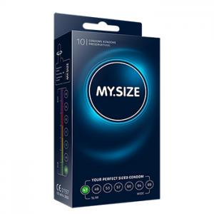 My Size - Natural Latex Condom 47 Width 10 pcs