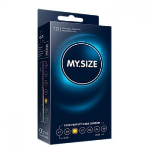 My Size - Natural Latex Condom 53 Width 10 pcs