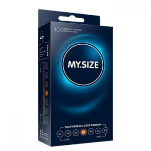 My Size - Natural Latex Condom 57 Width 10 pcs