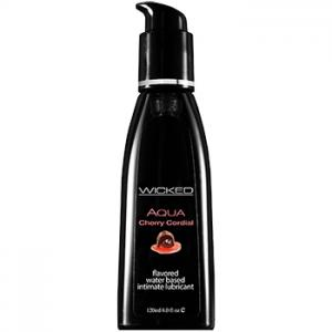 Wicked - Aqua Cherry Cordial Waterbased Lubricant 120 ml