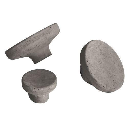 Knopp Cement Krok Mörkgrå Small