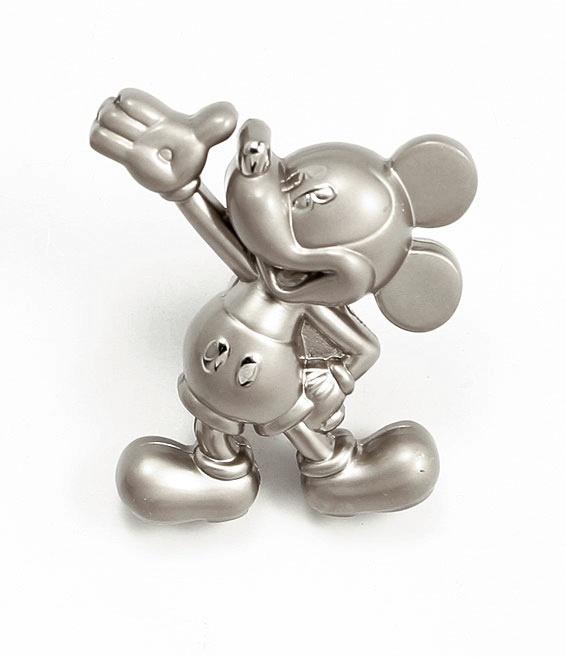 Knopp Disney Musse Pigg Matt nickel