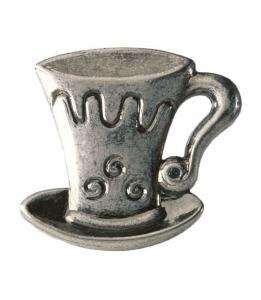 Byråknopp Metall Svart antik Cappuccino