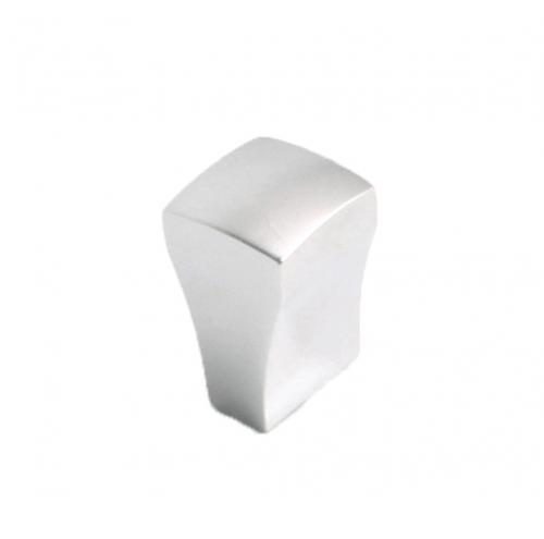 Knopp Blank krom Metall Minimalistisk design