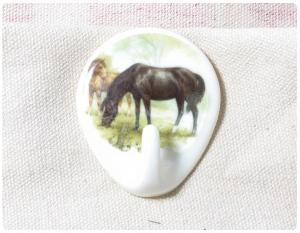 Krok Självhäftande Häst