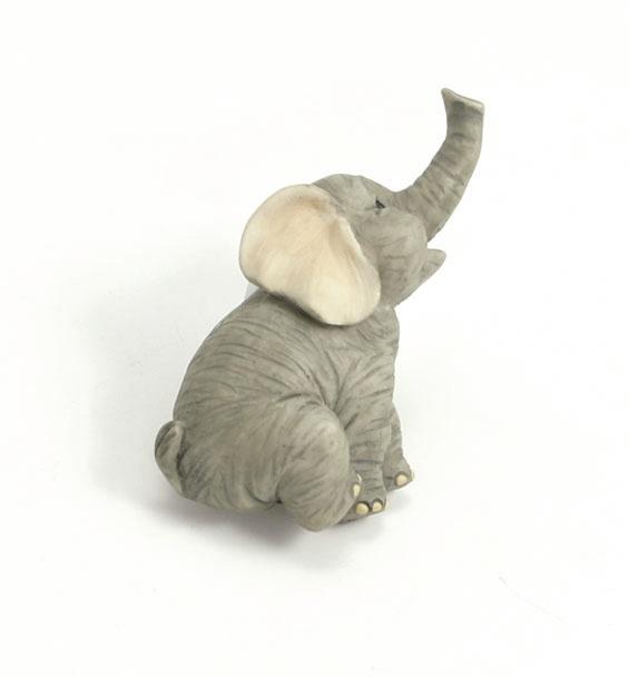 Knopp Elefant Barnrum Trumpetande