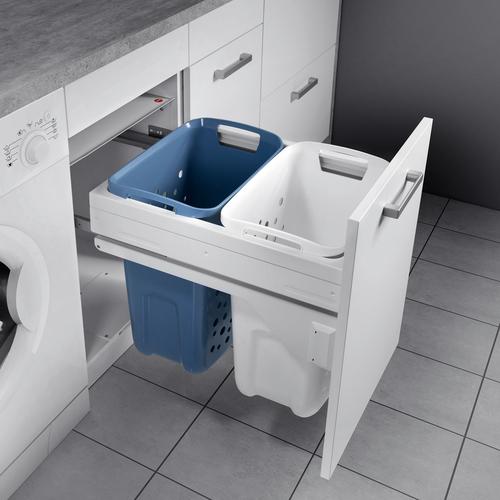 Tvättkorg Låda Förvaring Tvättstuga Tvättsystem