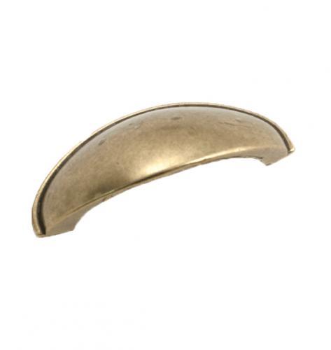 Skålhandtag Metall Antik Sekelskiftesstil