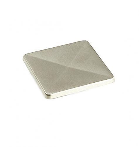 Knopp Push-knapp Matt krom Fyrkantig form