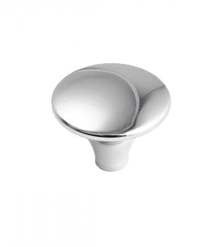 Köksknopp Blank krom Metall Skandinavisk design