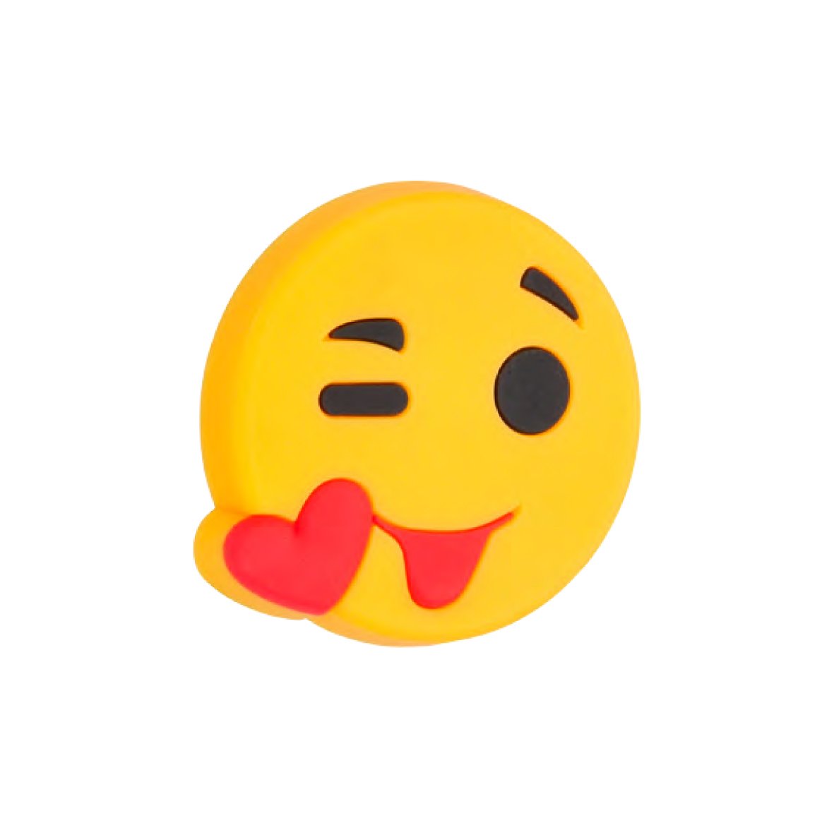 Emoji Puss Smiley Barnrum Gummiknopp