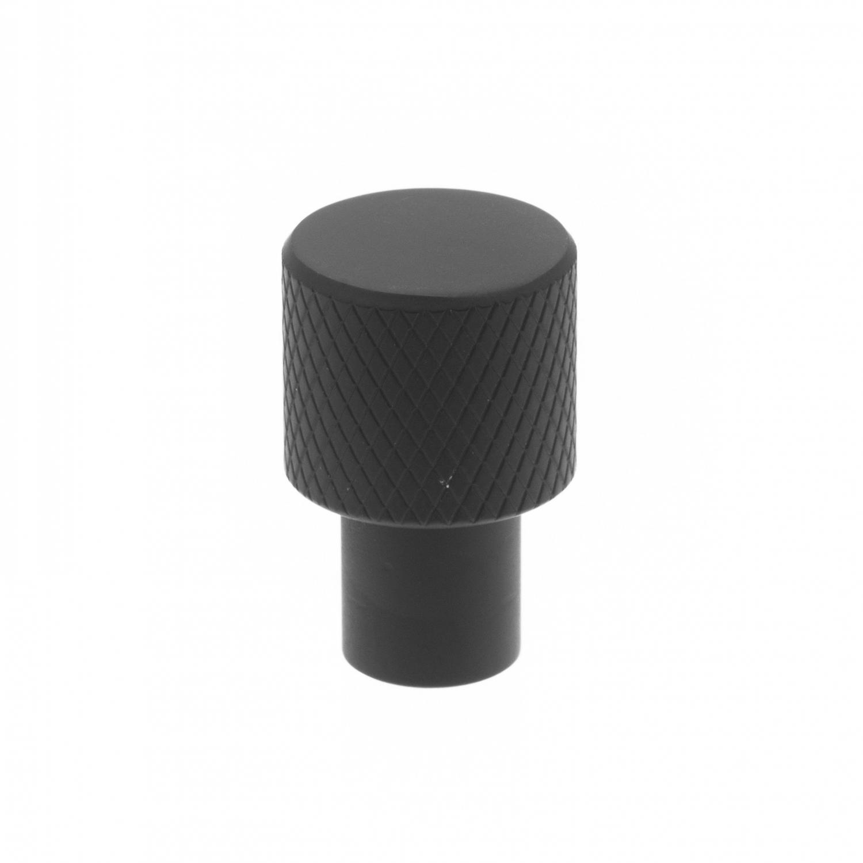 Relief Knopp Svart 16mm Industriell design