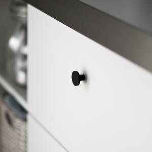 Knopp Svart i Modern Design
