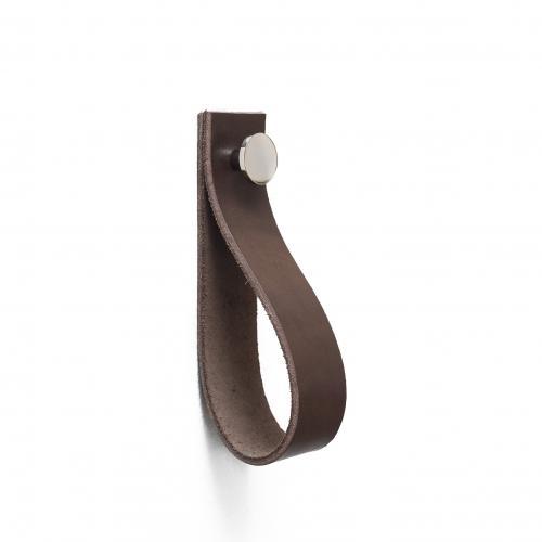 Krok Läder Brun & Nickel