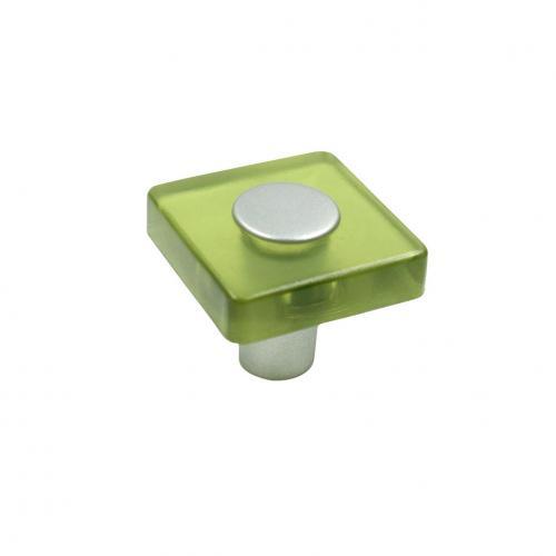 Plastknopp Grön