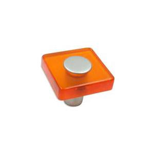 Plastknopp Orange