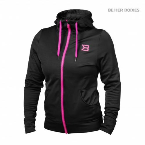 BETTER BODIES: PERFORMANCE HOODIE - SVART