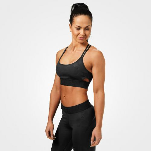BETTER BODIES  ASTORIA SPORTS BRA - BLACK CAMO 5e7c9f16c34