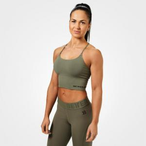 BETTER BODIES: ASTORIA SEAMLESS BRA - GRÖN